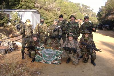 MIEMBROS DEL EQUIPO  W.A.T. - WOLFPACK  AIRSOFT  TEAM.